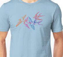 Swallow dive blue Unisex T-Shirt