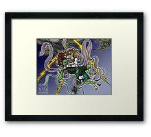 Demonic Twister Framed Print