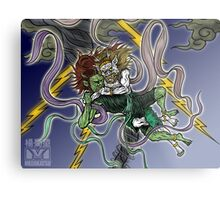 Demonic Twister Metal Print