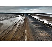 Road to Holy Island Photographic Print