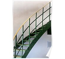 The Green Staircase Poster