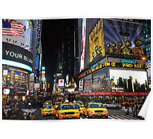 The big apple  NYC  New York City Poster