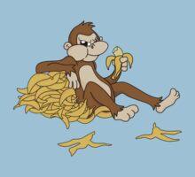 Angry monkey by Ara mink