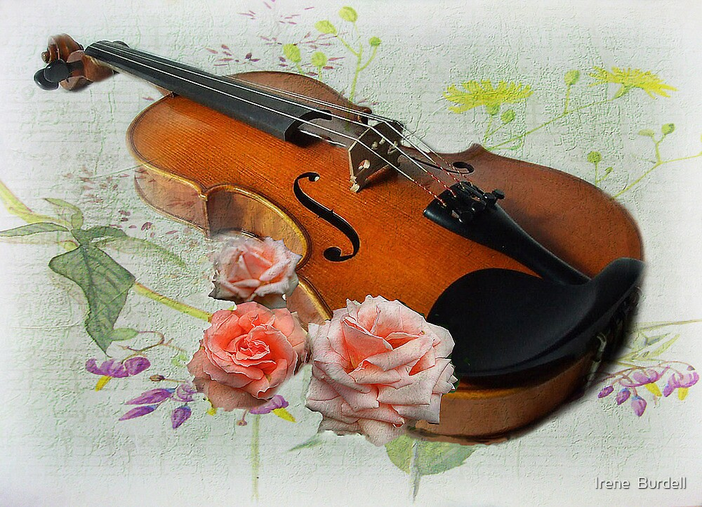 Let The Music Play On .  by Irene  Burdell