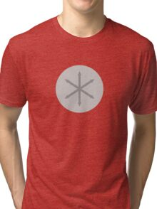 Classy e pluribus anus shirt | medium + circle Tri-blend T-Shirt