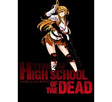 Highschool Of The Dead Rei Photographic Print