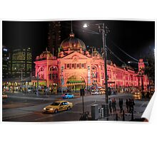 flinders by night Poster