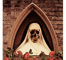 Scary Nun Photographic Print