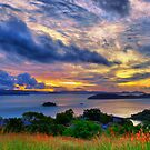 Tropical Clouds by Jill Fisher