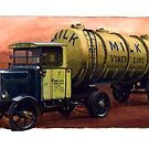 Scammell tanker 1926 by Mike Jeffries