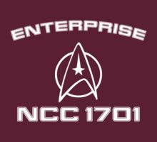 Star Trek Wrath Of Khan Style Enterprise Tee by Buleste