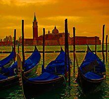Isola Di San Giorgio Maggiore, Venice, Italy by Al Bourassa