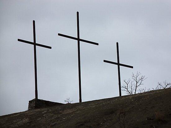 Località TRE CROCI - in onore a Gesù Cristo....ITALY. RB EXPLORE 10 GENNAIO 2013- by Guendalyn