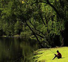 Fishing Hole by Noel Elliot