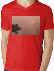 Top of the morning to you! Mens V-Neck T-Shirt