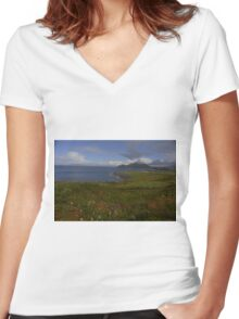 County Kerry Ireland Women's Fitted V-Neck T-Shirt