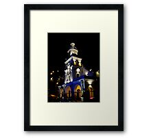 Turi Church At Night Framed Print