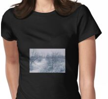 Winters smile Womens Fitted T-Shirt