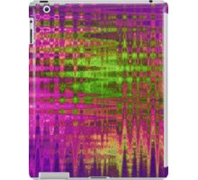 Purple Wire iPad Case/Skin