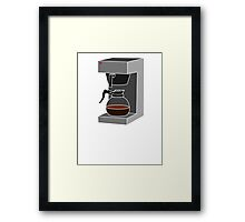 Coffee Monkey - Filter Coffee Framed Print