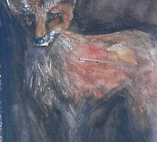 The Fox by ajnorthover