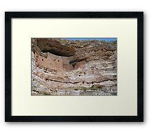 Arizona Cliff Dwelling Framed Print