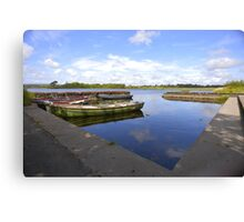 The Boat Dock Canvas Print
