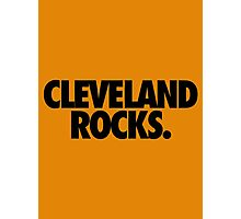 CLEVELAND ROCKS. Photographic Print