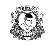 mr robot - art noveau Photographic Print