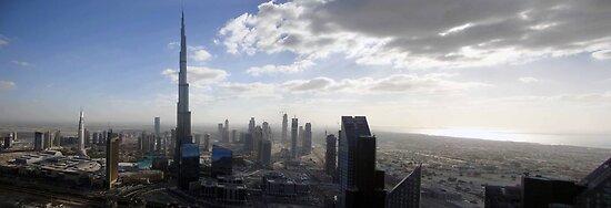 Downtown Dubai by Adam Adami