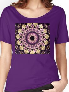 Purple Points Women's Relaxed Fit T-Shirt