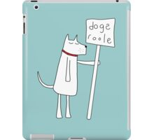 Dogs Roole iPad Case/Skin