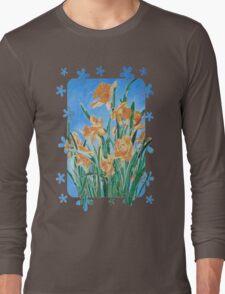 Golden Daffodils Long Sleeve T-Shirt