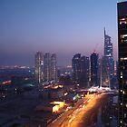 City Light Jumeirah Lake towers by Adam Adami