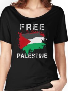 Free Palestine Save Palestina Women's Relaxed Fit T-Shirt