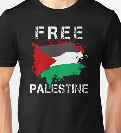 Free Palestine Save Palestina Unisex T-Shirt