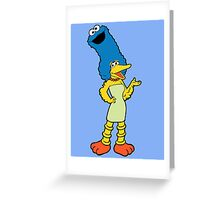 Marge Sesame Greeting Card