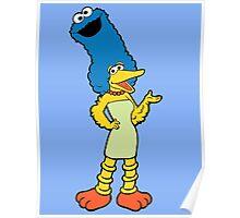Marge Sesame Poster