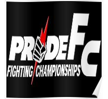 Pride Fighting Championships Japanese Mixed Martial Arts Pride UFC MMA Poster