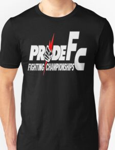 Pride Fighting Championships Japanese Mixed Martial Arts Pride UFC MMA T-Shirt
