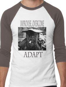 Improvise,overcome,Adapt Men's Baseball ¾ T-Shirt