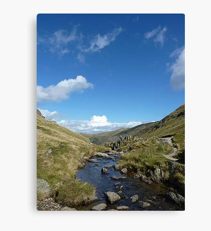 Landscape The Lake District Canvas Print