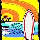 Surf's up by colourfreestyle