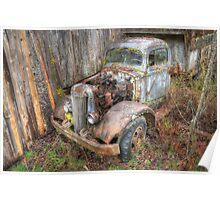 Rustic Truck Poster