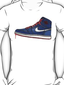 AIR JORDAN 1: BLUE GS RETRO FITTED T-Shirt