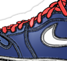 AIR JORDAN 1: BLUE GS RETRO FITTED Sticker