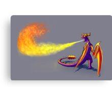 TLoS DotD - Fire Attack Canvas Print