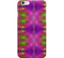 Electric Purple Reflected iPhone Case/Skin