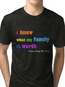 rainbow family Tri-blend T-Shirt