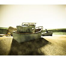 Summer Sand Box Fun 02 Photographic Print